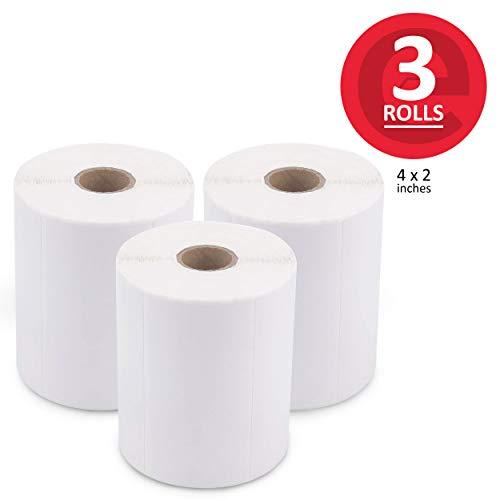 enKo (3 Rolls, 2250 Labels) 4 x 2