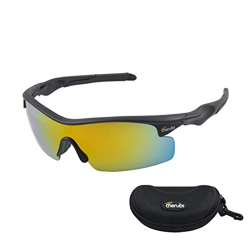 CHERUBS Kids Style and Sport Sunglasses - Great for Boys or Girls - Flexible, Comfortable - UV400 Optometrist Approved