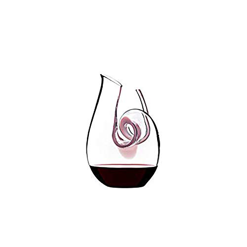 Riedel Curly Mini Pink Cyrstaline 24 Ounce Decanter (Riedel Glasses Pink Wine)