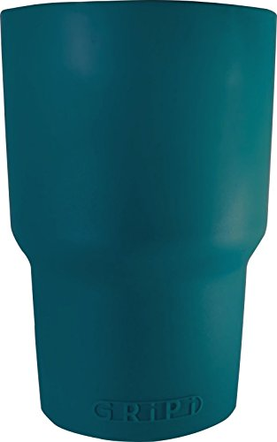 GRiPi Sleeve for YETI Cooler Tumbler (Deep Sea Teal) Silicone Grip for 20 oz. or 30 oz. Drinks | Colorful, Personalized Insulated Cup Cover