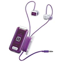 Fitness Earbuds White Purple
