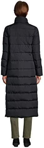 Lands' End Women's Winter Maxi Long Down Coat with Hood