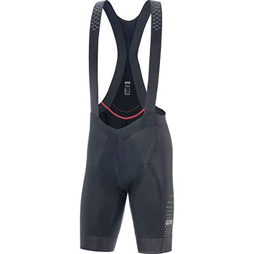 (GORE WEAR C7 Men's Ventilated Racing Bib Shorts with Seat Insert, M, Black)