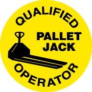Nmc Pallet Jack Hard Hat Emblem - 2'' Diameter