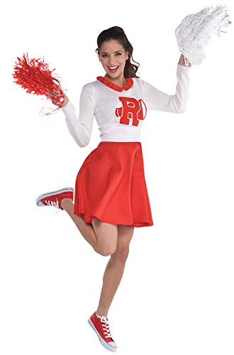 Suit Yourself Rydell High Cheerleader Dress for Girls, Grease, -