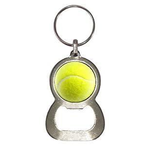 Tennis Ball Design Flaschenöffner Schlüsselanhänger
