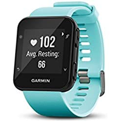 1 of Garmin Forerunner 35, Easy-to-Use GPS Running Watch, Frost Blue