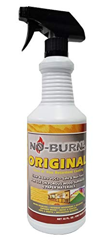 No-Burn Original Fire Retardant 32fl ( 946ml ) (Retardant Flame Canvas)