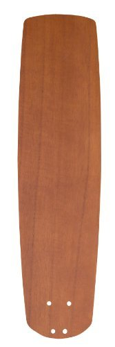Emerson Ceiling Fans B78TK 25-Inch Solid Wood Indoor-Outdoor Ceiling Fan Blades, Teak, Damp Location, Set of 5 Blades by Emerson