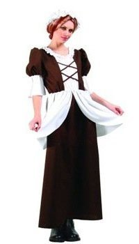 Adult Lady Colonial Costumes (Colonial Lady Adult Costume )