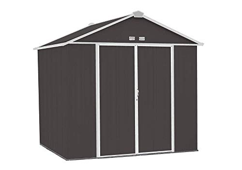 WZH 7.5 ft by 9 ft Easy Assembly Steel Storage Shed for sale