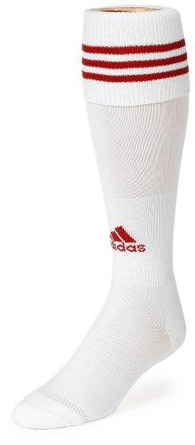 adidas Copa Zone Cushion Sock, White/University Red, Large