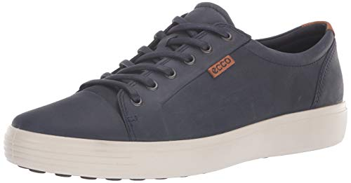 ECCO Men's Soft 7 Sneaker, Marine, 43 M EU (9-9.5 US)