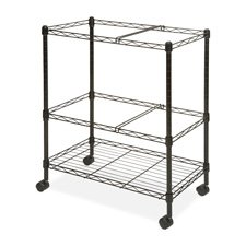 Lorell LLR45650 Mobile Wire File Cart by Lorell