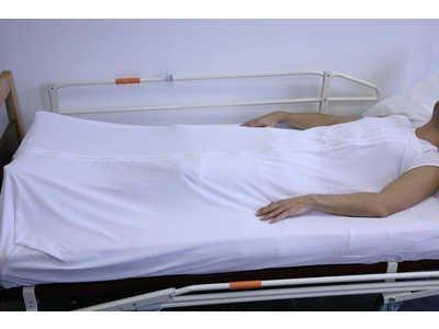 Sábana de seguridad para mayores Cama (135cm x 180-200cm): Amazon.es: Hogar