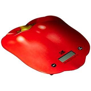 Kalorik Pepper Kitchen Scale, EKS 42443 R, Food Scale, Precision Scale, Small Item Scale, Red