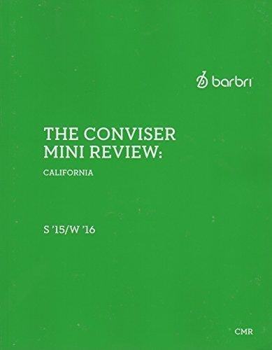 Barbri The Conviser mini review California 2015-2016