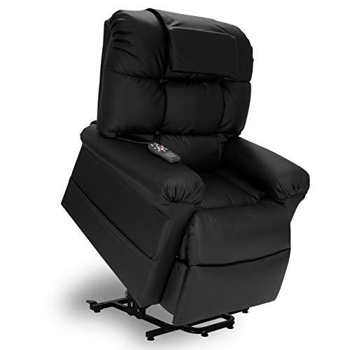 WiseLift 450 Sleeper Lift Chair - EnduraluxTM Leather - 450 Lift Power