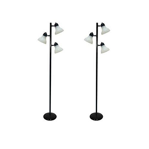 64'' Durability, Track Tree Floor Lamp, Black (Track Tree Floor Lamp)