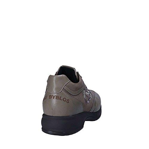Blu Byblos Byblos blu 677008 Shoes with Laces Women Grey xQr0s7RAx