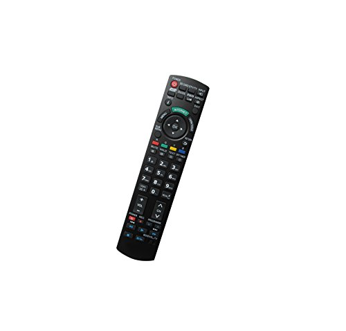 Universal Replacement Remote Controller Fit For Panasonic PT-52LCX65 PT-52LCX35 DLP Projector Viera Plasma LCD LED HDTV TV ()