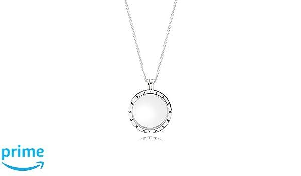 baa25577a273 Pandora Collar con colgante Mujer plata - 590530-75  Amazon.es  Joyería