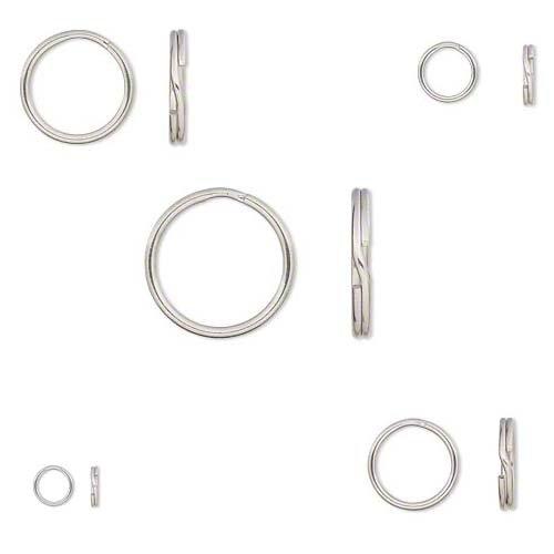 8mm split rings - 9
