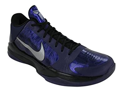 watch 12213 becdc Nike Zoom Kobe V (Ink   Metallic Silver-Black-Ice) 8.5