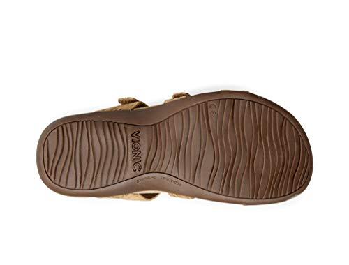 Damen Cork Sandalen Damen VIONIC Gold Cork Gold VIONIC VIONIC Sandalen Sandalen Damen Gold qgzfR