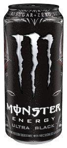 Monster Energy Drink Ultra Black