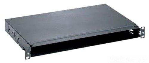 Rackmount Fiber 1 (Panduit FMT1 Opticom 1RU Rack Mount Fiber Opt Tray)