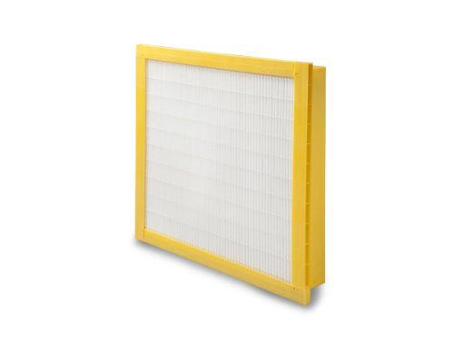 Filtration Group 21612 Geo Pleat Mini Pleat Air Filter  Synthetic Media  Yellow White  11 Merv  Single Header  25  Height X 20  Width X 4  Depth  Case Of 3
