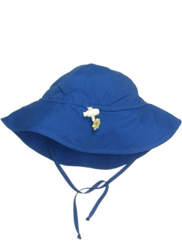 Iplay Baby Infant Toddler Unisex UPF 50 Solid Brim Sun Hat / Beach Hat by Iplay - Royal - 2-4 Years