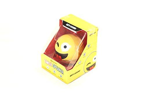 Blutooth Emoji Speaker With Wink - Wireless Speaker, Long La
