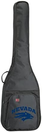 NCAA Collegiate Bass Guitar Bag University of Reno Nevada Wolfpack