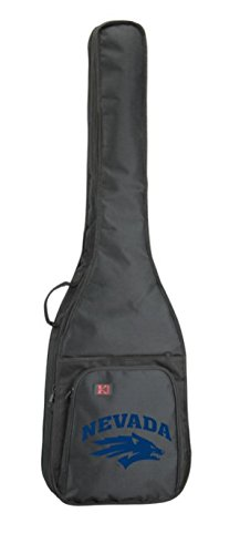 NCAA Collegiate Bass Guitar Bag - University of Reno Nevada Wolfpack by Spirit Straps