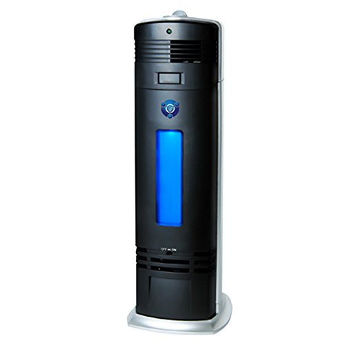 - OION Technologies B-1000 Permanent Filter Ionic Air Purifier Pro Ionizer with UV-C Sanitizer, New (Black)