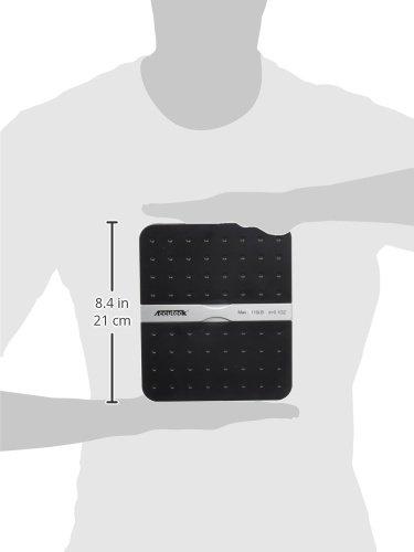 Accuteck ShipPro 110lbs x 0.1 oz. Digital Shipping Postal Scale, Black (W-8580-110-Black)