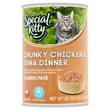 be963df79 Amazon.com : 6 Cans of Special Kitty Classic Pate Chunky Chicken ...