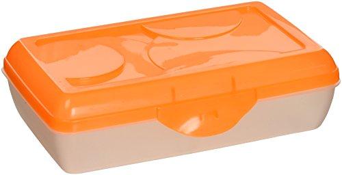 Sterilite Neon Orange Pencil Case