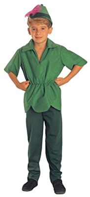 Peter Pan Costume Childrens Medium from Rubies - Domestic