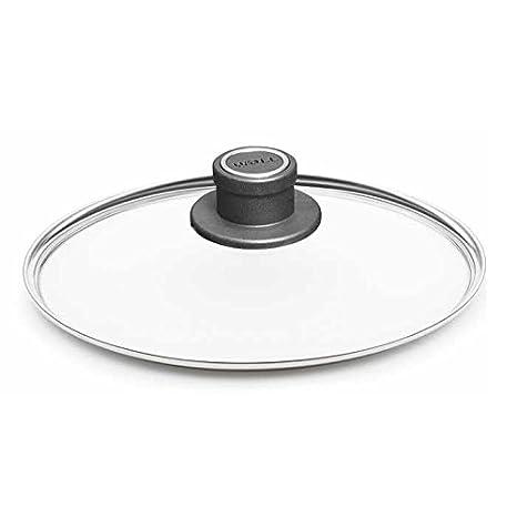 Woll - El más ollas y sartenes antiadherentes (- Tapa de cristal 24 cm Con Borde de metal: Amazon.es: Hogar