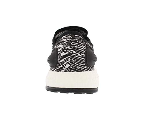 adidas Pureboost Black/White Running Shoes 8.5