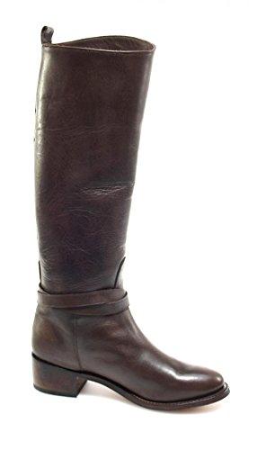 Tony Mora2664 - Botas plisadas Mujer Marrón - marrón