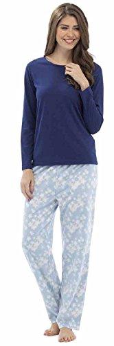 Tom Franks - Pijama de una pieza - para mujer Azul