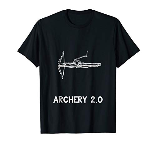 Vintage Archery Shirt Medieval Crossbow History Teacher Tee