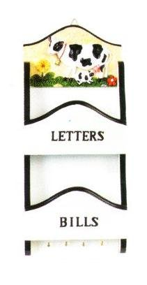 COW Mail Letter Holder & Key - Eastland Woods