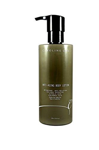 Caroline Chu Anti-Aging Body LotionAntioxidant, Collagen Tripeptide,Glycolic Acid, 10.14 Fluid Ounce - Acid Glycolic Collagen