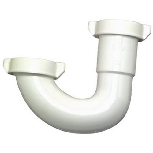 Master Plumber 453-324 MP Kitchen Drain Bend White