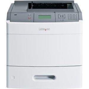 - Lexmark T650 T654DN Laser Printer - Monochrome - 1200 x 1200 dpi Print - Plain Paper Print - Desktop - 55 ppm Mono Print - 650 sheets Input - Automatic Duplex Print - Fast Ethernet - USB